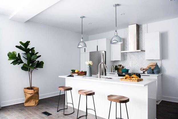 کاشی کاری و کاشی آشپزخانه جدید