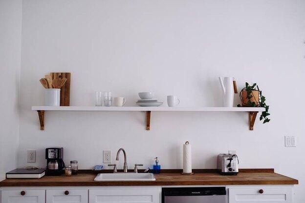 ایده هایی برای داشتن آشپزخانه ای دورنگ