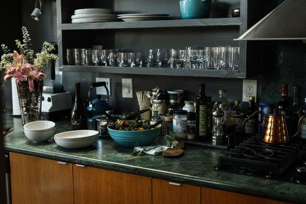 ۱۱ ایده رنگ بندی در طراحی کابینت آشپزخانه