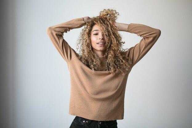 مدل موی فر روزمره