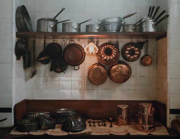 بسته بندی فوری آشپزخانه برای اسباب کشی
