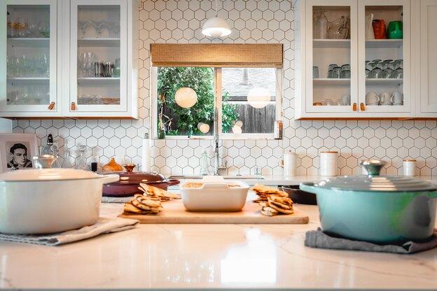 طرح کاشی کاری برای آشپزخانه های کوچک