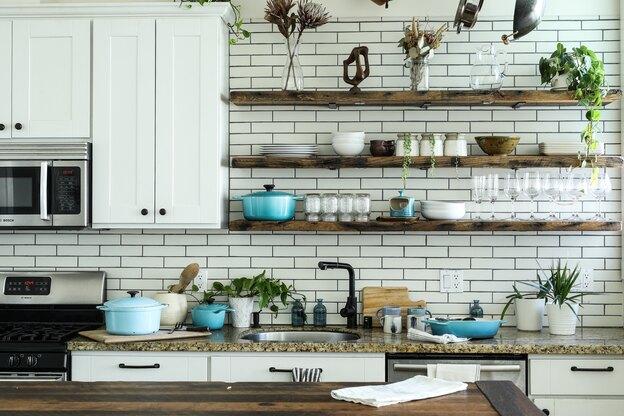 نقاشی ساختمان: بهترین روکش رنگ برای آشپزخانه