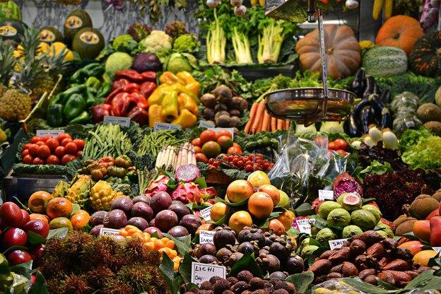 ضدعفونی کردن سبزیجات و میوه در زمان کرونا