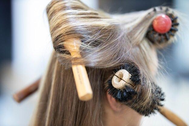 روش هایلایت مو در خانه