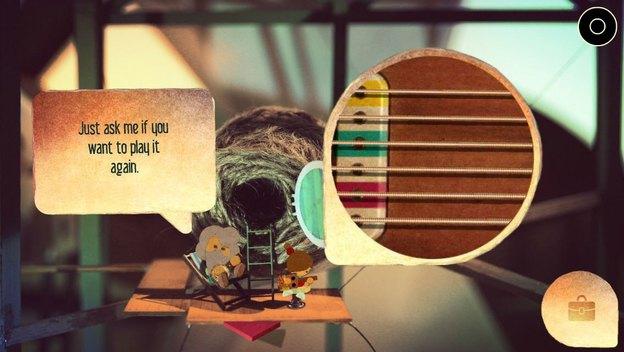 معمای نواختن نت های گیتار در بازی لومینوسیتی