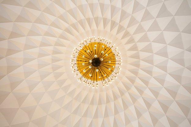 پنل های سه بعدی سقف کاذب