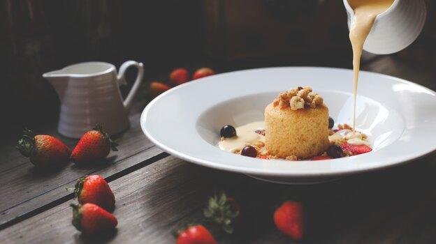 دستور پخت کیک اسفنجی وانیلی