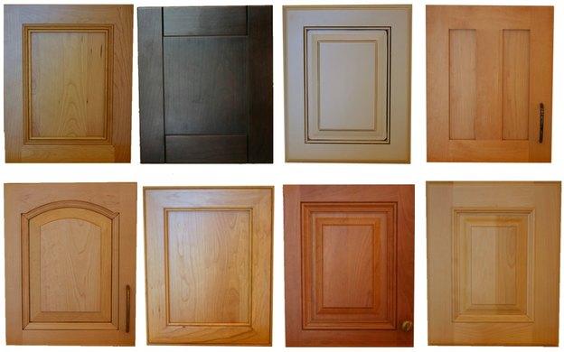 انواع در چوبی کابینت