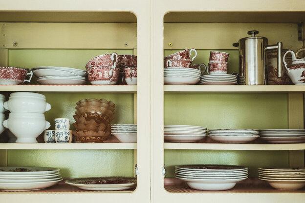 نحوه نقاشی و بازسازی کابینت آشپزخانه