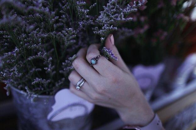 تمیز کردن انگشتر نقره