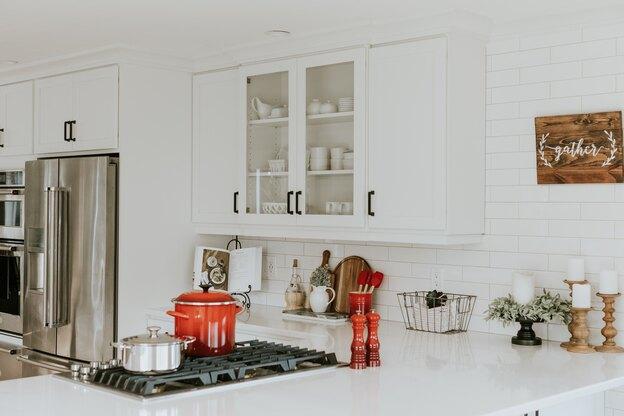 ایده هایی برای طراحی آشپزخانه با کاشی کاری