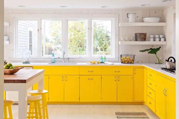 کابینت رنگی آشپزخانه