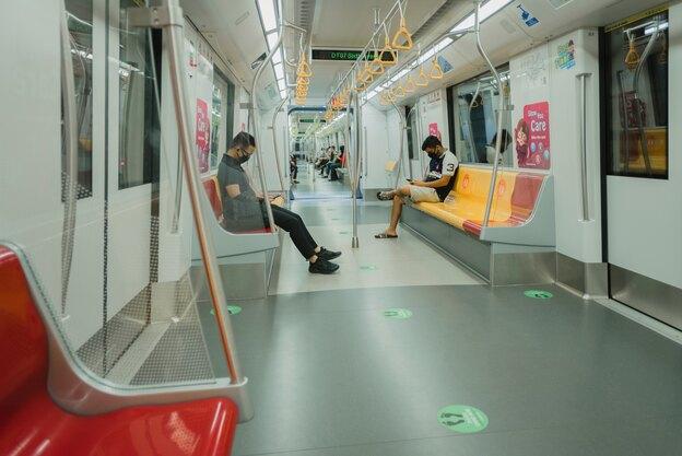 استفاده از حمل و نقل عمومی در کرونا