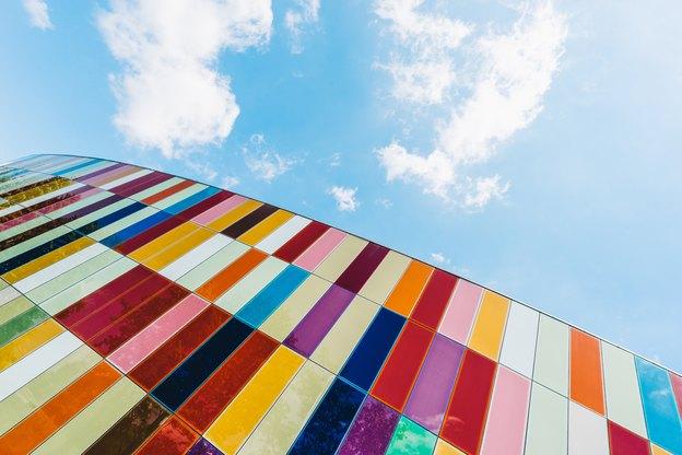 رنگ های نقاشی ساختمان برای بزرگ تر نشان دادن سقف