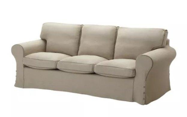 کاناپه سه نفره لاوسون Ektorp sofa آیکیا