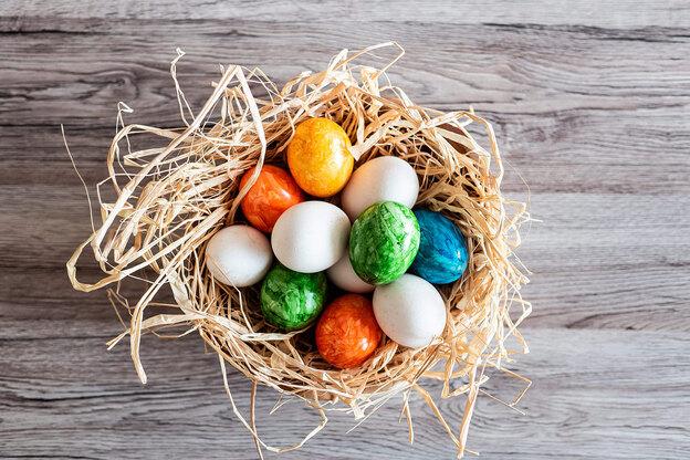۲۲ ایده برای رنگ آمیزی تخم مرغ سفره هفت سین