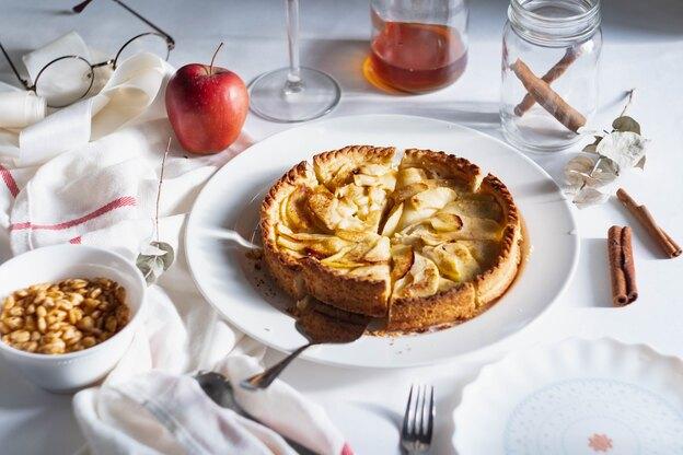 دستور پخت پای سیب انگلیسی