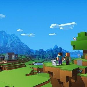 بازی ماینکرفت - Minecraft، لِگویی در دنیای دیجیتال