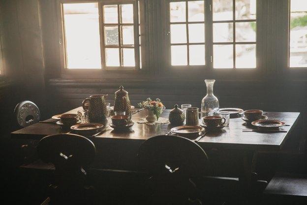 50 طراحی کابینت آشپزخانه با روح کلبه های روستایی