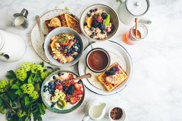 ۱۴ دستور صبحانه سالم و انرژی بخش