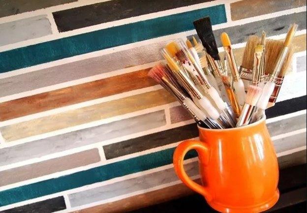 نقاشی دیوار آشپزخانه
