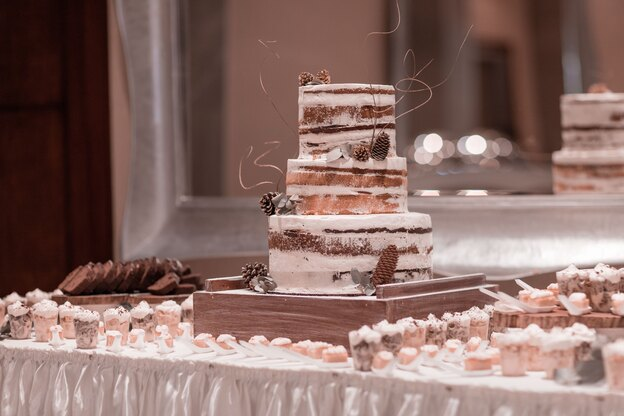 کیک عروسی مد روز