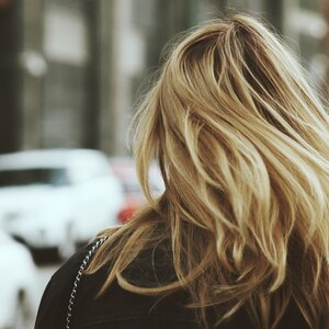مدل هایلایت موی بلند