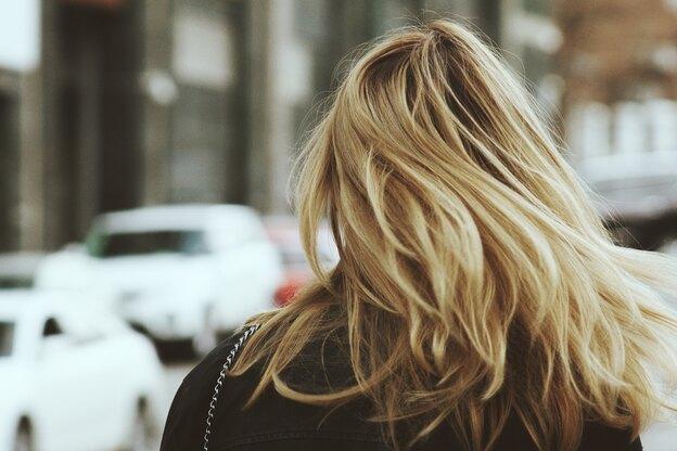 مدل کوتاهی موی بلند با هایلایت