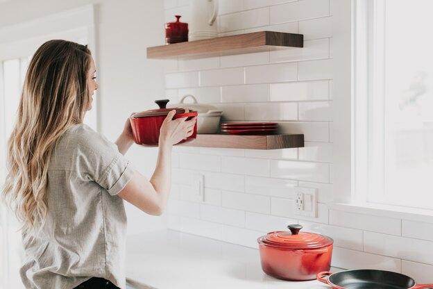 کاشیکاری آشپزخانه کوچک