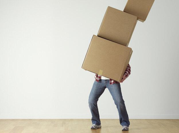 راهنمای بسته بندی اسباب و اثاثیه