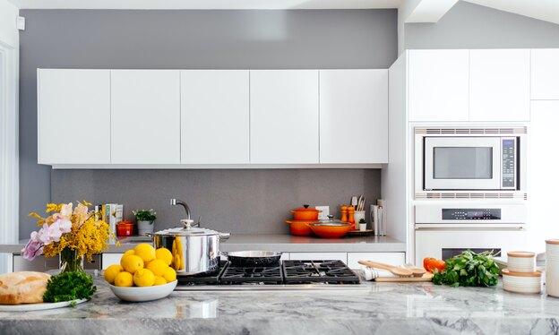 ایده هایی برای رنگ بندی کابینت آشپزخانه