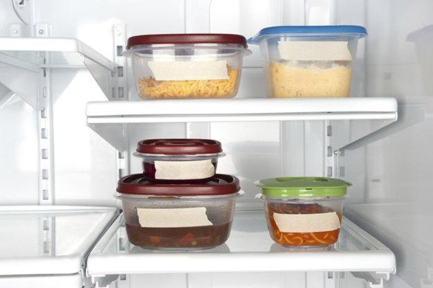 مواد غذایی سرد توی یخچال