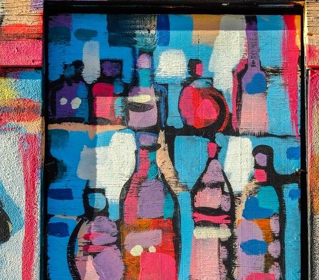 نقاشی ساختمان: رنگ کردن کابینت آشپزخانه