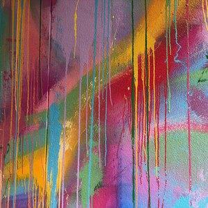 خشک شدن رنگ پس از نقاشی ساختمان
