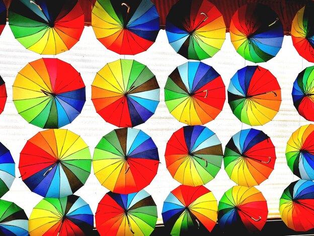 ایده گرفتن از چرخه رنگ در نقاشی ساختمان