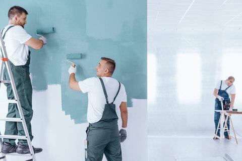 نقاش ساختمان درتهران