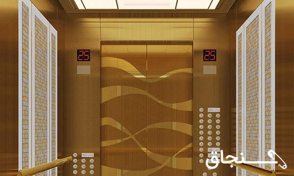 بازسازی و تزئینات کابین آسانسور