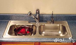نصب سینک ظرفشویی